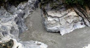 zatoczki wąwozu marmuru taroko Obraz Royalty Free