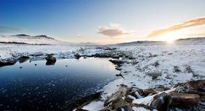 zatoczki zima Obraz Stock