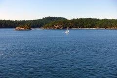 Zatok wysp przejście Obrazy Stock