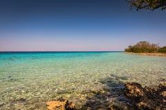 Zatoka świnie, Playa Giron, Kuba obrazy royalty free
