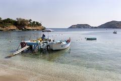 Zatoka Agia Pelagia w wyspie Crete Obrazy Royalty Free