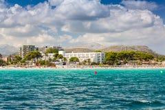 Zatoka Alcudia Obrazy Royalty Free