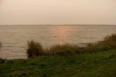 Zatoka blisko Ahrenshoop Obrazy Stock