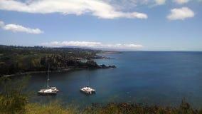 Zatoka blisko Lahaina, Maui, Hawaje Zdjęcia Stock