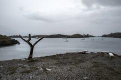Zatoka Cadaques Fotografia Royalty Free