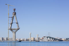 Zatoka Cadiz, Hiszpania Obraz Royalty Free