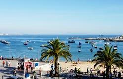 Zatoka Cascais, Portugalia zdjęcie royalty free