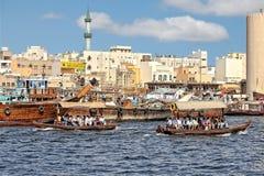zatoka Dubaju zdjęcie stock