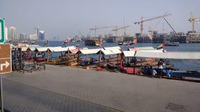 zatoka Dubaju Zdjęcia Stock