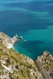 zatoka dzwonił conero góry siostry dwa zdjęcie royalty free