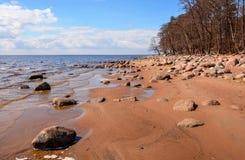 zatoka finlandia Zdjęcie Stock