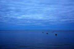Zatoka Finlandia przy wieczór Zdjęcie Royalty Free