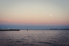 Zatoka Gdański, Polska Obrazy Royalty Free