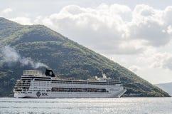 Zatoka Kotor, Montenegro Obrazy Royalty Free