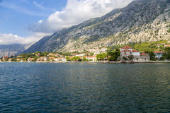 Zatoka Kotor. Montenegro. Obraz Royalty Free