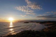 Zatoka męczennika zmierzch 1 Fotografia Royalty Free