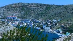 Zatoka, miasto i góry, zdjęcie wideo