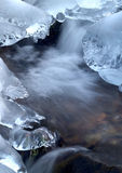 zatoka mrożona Fotografia Stock