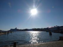 Zatoka na Helsinki Fotografia Stock