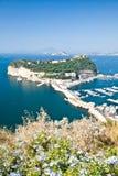 zatoka Naples obrazy royalty free