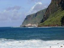 Zatoka Paul Mąci madery wyspa zdjęcie royalty free
