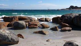 zatoka podpala Tasmania Obrazy Stock