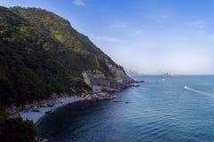 Zatoka w Taejongdae parku Fotografia Royalty Free