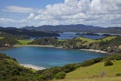 Zatoka wyspy Fotografia Stock