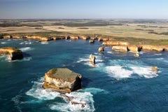 Zatoka wyspy Obraz Stock