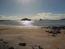 Zatoka wyspy Obraz Royalty Free