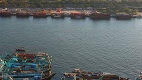 Zatoki 4k czasu upływ od deira Dubai zbiory wideo