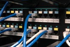 zatoki kabli dane łaty przekaz Obraz Stock