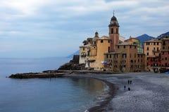 zatoki Liguria raj Obraz Royalty Free