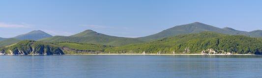 zatoki panoramy morze Obrazy Royalty Free
