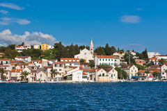 Zaton is a small historic town in Croatia Stock Image