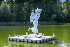 Zatorland Polen, themapark Royalty-vrije Stock Afbeelding