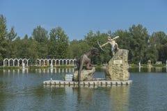 Zatorland Polen, themapark Stock Fotografie