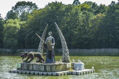 Zatorland Polen, themapark Royalty-vrije Stock Foto