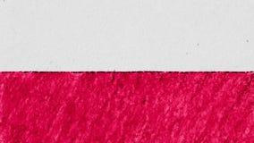 Zatrzymuje ruchu Polska Indonezja flaga kreskówki animaci pętli bezszwowego tła ilości pastelowa kredka rysującego nowego obywate royalty ilustracja