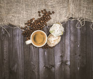 Zatrzymywać dla kawy Obrazy Royalty Free