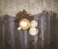 Zatrzymywać dla kawy Fotografia Royalty Free