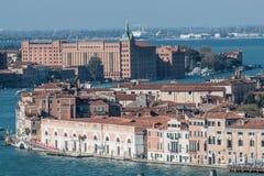 Zattere di posizioni e stuki del mulino da sopra Venezia Italia Veneto Europa immagini stock