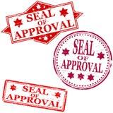 zatwierdzenia foki znaczek Zdjęcia Stock