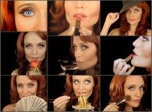 Zauber-Collage lizenzfreie stockfotografie
