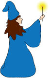 Zauberer-Abbildung Lizenzfreies Stockfoto