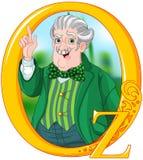 Zauberer von Oz lizenzfreie abbildung