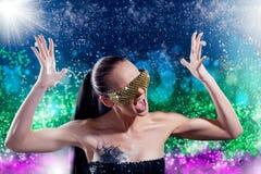 Zauberporträt der schönen Frau Stockfoto