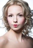 Elegante blonde Frau Lizenzfreie Stockfotografie