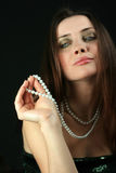 Zaubersnobfrau Stockfoto