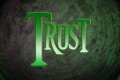 Zaufania pojęcie Obrazy Royalty Free